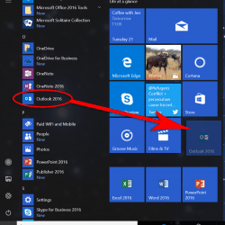 Customize the Windows 10 Start Menu