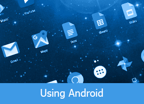 using android