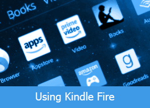 using kindle fire