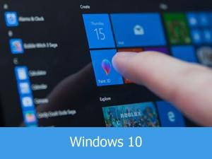 windows 10 touch screen