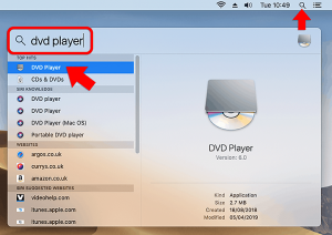 Mojave DVD player