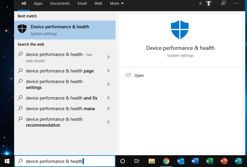 device performance
