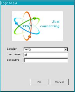 remote log into pi