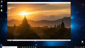 Raspberry Pi running in remote desktop on windows 10