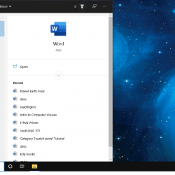 Find Apps Quickly in Windows 10