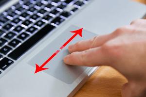 mac trackpad swipe