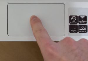 chromebook tap gesture