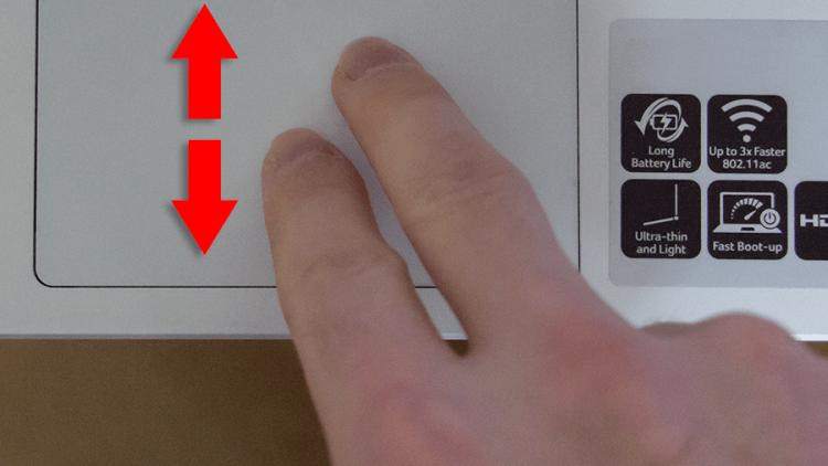 Chromebook Finger Gestures