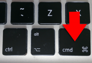 MacOS command key