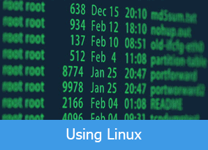using linux