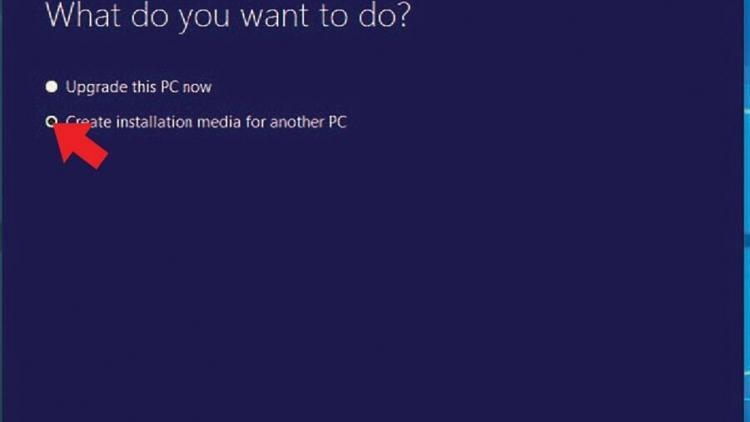 Creating Windows 10 Installation Media
