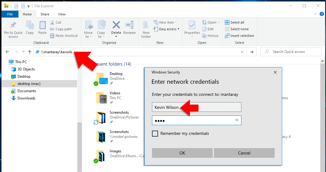 Connect to MacOs from Windows