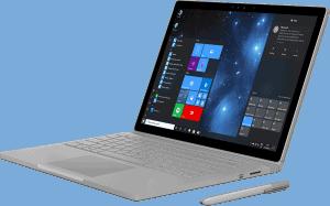surface laptop running windows 10