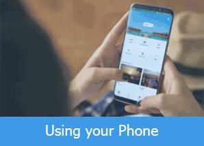 Using your phone