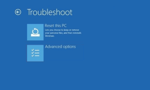 WinRE troubleshoot